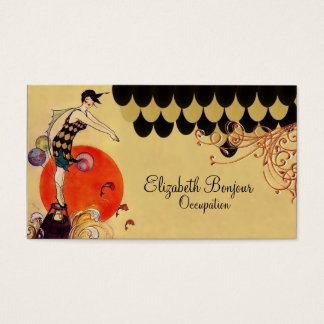 Swimming Girl ~ Business Card