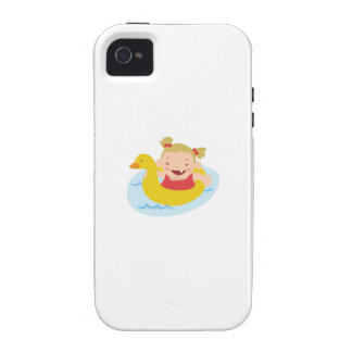Swimming Girl Case-Mate iPhone 4 Case