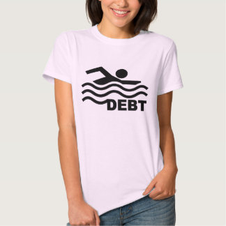 Swimming in Debt Shirts