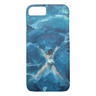 Swimming in the Deep End iPhone 8/7 Case