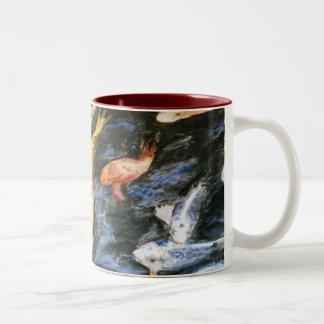 Swimming Koi Fish Mug