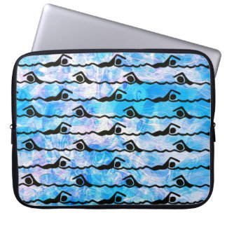 SWIMMING Laptop Sleeve