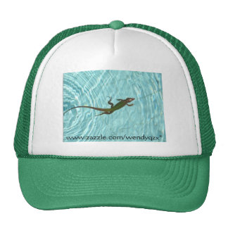 Swimming Lizard Cap