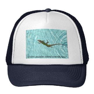 Swimming Lizard - reverse Cap