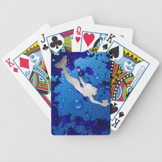 Swimming Mermaid Art by Lita Kelley Bicycle Playing Cards