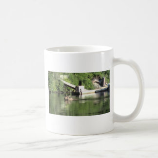 Swimming Moose Coffee Mug