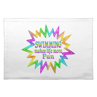 Swimming More Fun Placemat