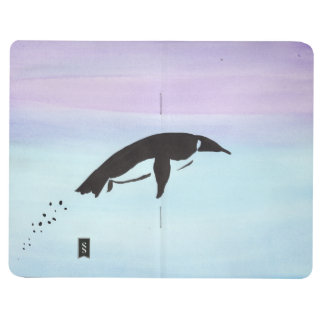 Swimming Penguin Pocket Journal