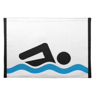 swimming placemat