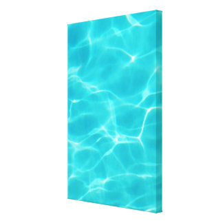 Swimming Pool Canvas Print
