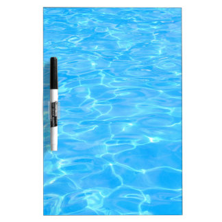 Swimming pool Dry-Erase whiteboards