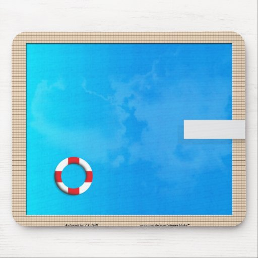 Swimming Pool Mouse Pad