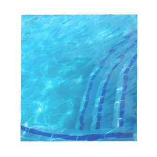 Swimming pool notepads