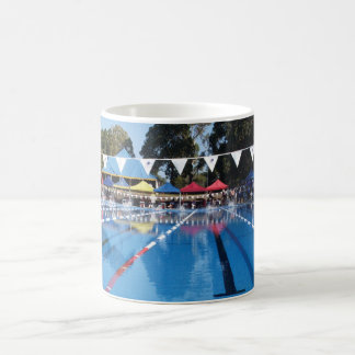 Swimming Pool - Outdoor Swimming Carnival Coffee Mug