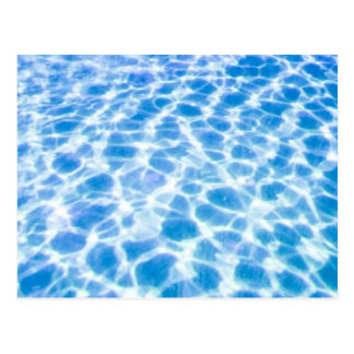 Swimming Pool Surface Postcard