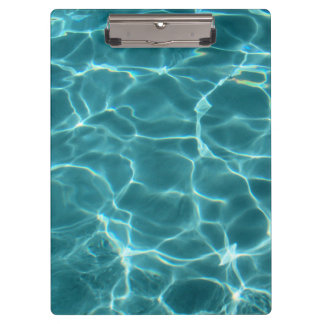 Swimming Pool Water Clipboard
