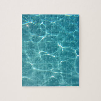 Swimming Pool Water Jigsaw Puzzle