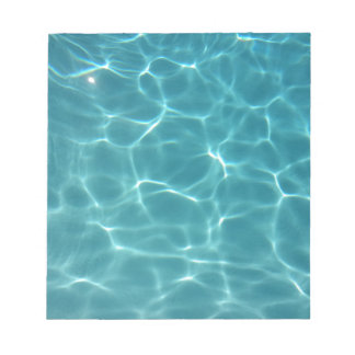 Swimming Pool Water Notepad