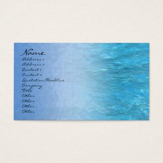 Swimming Pool Water Profile Card