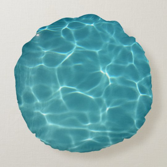 Swimming Pool Water Round Cushion