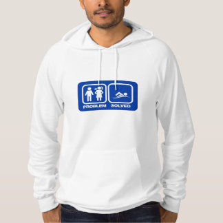 SWIMMING PROBLEM SOLVED HOODIE