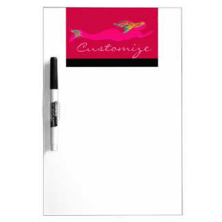 swimming red mermaid Thunder_Cove Dry Erase Board