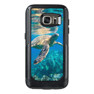 Swimming Sea Turtle OtterBox Samsung Galaxy S7 Case