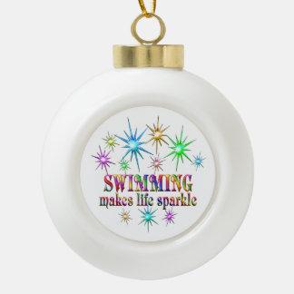 Swimming Sparkles Ceramic Ball Decoration