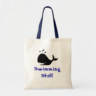 Swimming Stuff Tote Bag