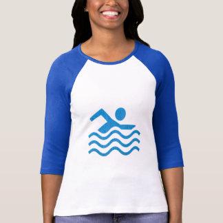 Swimming Sucess Swim Swimmer fun T-Shirt