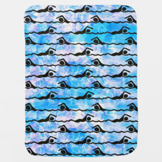 SWIMMING SWADDLE BLANKETS