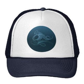 SWIMMING SWAN by SHARON SHARPE Trucker Hat