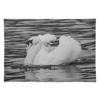 Swimming Swan Placemat