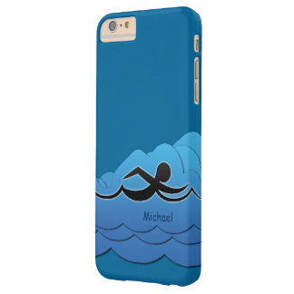 Swimming Swimmer Barely There iPhone 6 Plus Case