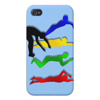 Swimming Swimmers Water Sports Swim Case For The iPhone 4