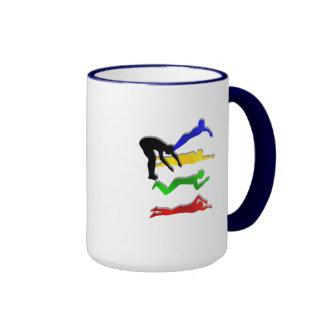 Swimming Swimmers Water Sports Swim Ringer Mug