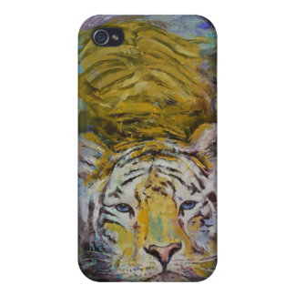 Swimming Tiger Case For iPhone 4