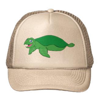 Swimming turtle cap