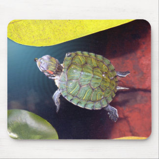 Swimming Turtle Mousepad