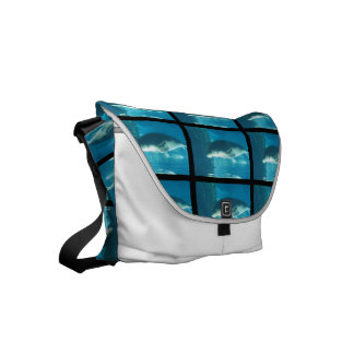 Swimming Walrus Messenger Bag
