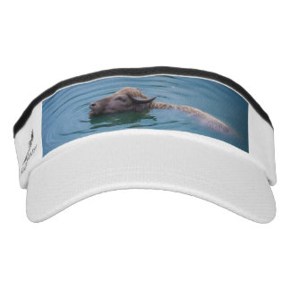 Swimming Water Buffalo Visor