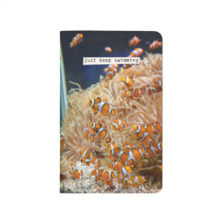 Swimming With Clownfish Notebook