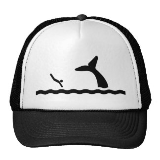 Swimming with the Whales Cap