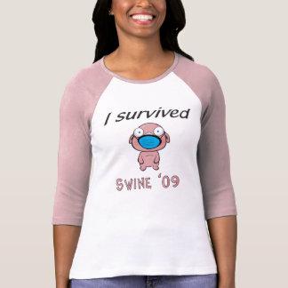 Swine 09 - Ladies T-Shirt