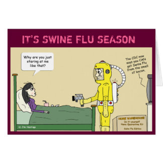 Swine Flu Card
