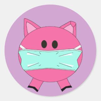 Swine Flu sticker