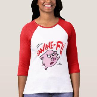 Swine Fu Humor T-Shirt