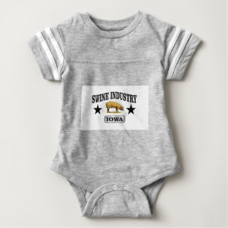 swine industry baby baby bodysuit