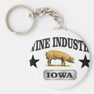 swine industry baby key ring