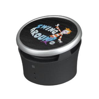 Swing Around - promo graphic Speaker